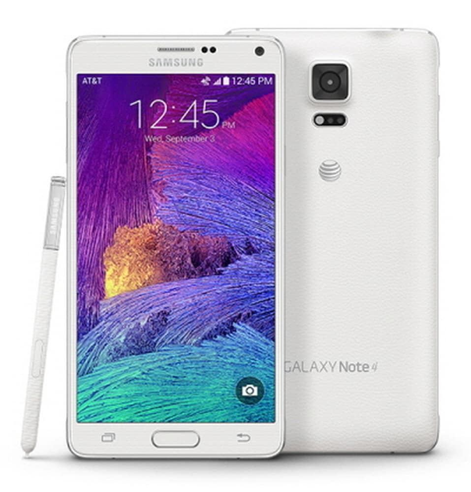 Samsung Galaxy Note 4 SM-N910A Unlocked AT&T 4G LTE 32GB White Smartphone