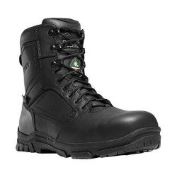 Men's Danner Lookout EMS Side-Zip 8in NMT Work Boot Black Leather/Ripstop Nylon