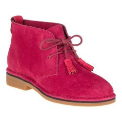 Women's Hush Puppies Cyra Catelyn Chukka Red Suede