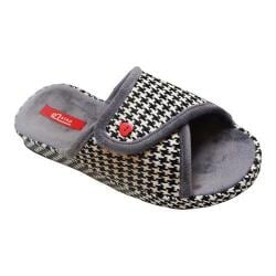 Women's Vecceli Italy VE-91 Knit Slipper Grey