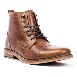 Men's Crevo Bookham Cap Toe Boot Chestnut Leather