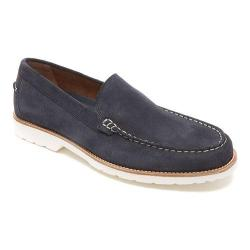 Men's Rockport Classic Move Venetian Loafer New Dress Blues Suede