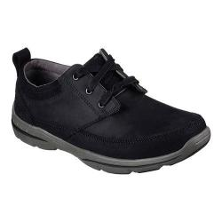 Men's Skechers Relaxed Fit Harper Olney Oxford Black
