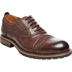 Men's Steve Madden Spanner Brogue Brown Leather