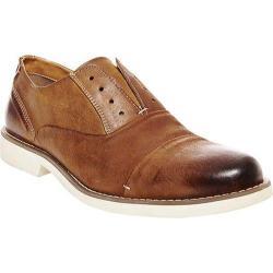 Men's Steve Madden Tobyas Laceless Oxford Tan Leather