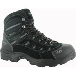 Men's Hi-Tec Bandera Mid 200 Waterproof Boot Black/Charcoal Suede