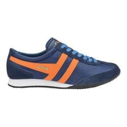 Men's Gola Wasp Casual Sneaker Navy/Orange/Blue Nylon