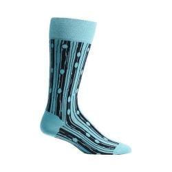 Men's Ozone Bark Beetle Socks (2 Pairs) Blue