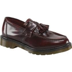 Men's Dr. Martens Adrian Tassel Loafer Burgundy Classic Rub Off