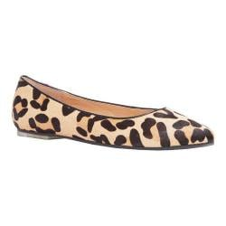 Women's Me Too Aimee Flat Tan/Black Haircalf
