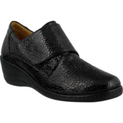 Women's Spring Step Corvo Slip On Black Patent Leather
