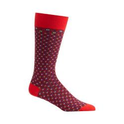 Men's Ozone Crescent Waves Socks Red
