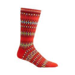 Men's Ozone Kente Spears Socks (2 Pairs) Red