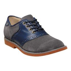 Boys' Florsheim Kennett Jr. Saddle Shoe Navy Multi