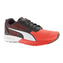 Men's PUMA Ignite Dual Running Shoe Red Blast/Asphalt 20043646