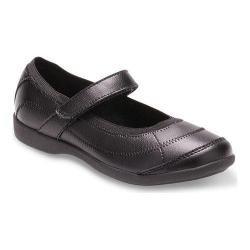Girls' Hush Puppies Reese Mary Jane Black Leather