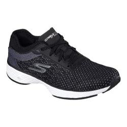 Women's Skechers GOwalk Sport Walking Shoe Black/White