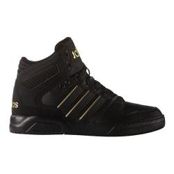 Men's adidas NEO BB9TIS Mid Basketball Shoe Black/Black/Matte Gold