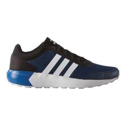 Men's adidas NEO Cloudfoam Race Sneaker Black/White/Blue