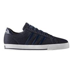 Men's adidas NEO Daily Sneaker Collegiate Navy/Collegiate Navy/White Textile