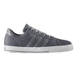 Men's adidas NEO Daily Sneaker Grey/Grey/White Textile