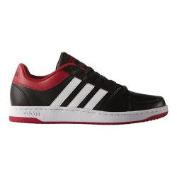Men's adidas NEO VS Hoops Black/White/Power Red