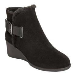 Women's Aerosoles Gravel Ankle Boot Black Suede