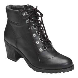 Women's Aerosoles Inception Ankle Boot Black Leather