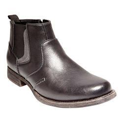 Men's Madden Basket Chelsea Boot Black Synthetic