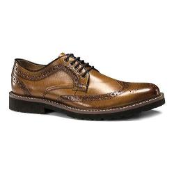 Men's Dockers Benfield Wingtip Derby British Tan Burnished Full Grain Leather