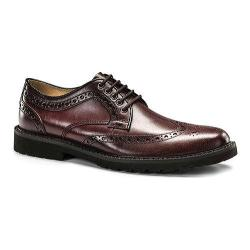 Men's Dockers Benfield Wingtip Derby Burgundy Pull-up Full Grain Leather