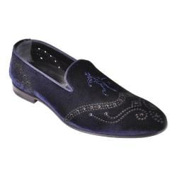 Men's Giovanni Marquez 11700 Velluto Loafer Blue Velvet