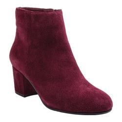 Women's Steve Madden Holster Ankle Boot Burgundy Suede