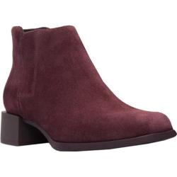 Women's Camper Kobo Chelsea Boot Dark Red Nubuck