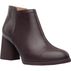 Women's Camper Lea Bootie Dark Red Smooth Leather