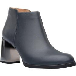 Women's Camper Lea Bootie Dark Gray Smooth Leather