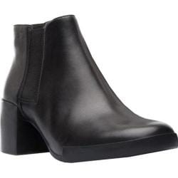 Women's Camper Lotta Chelsea Boot Black Smooth Leather