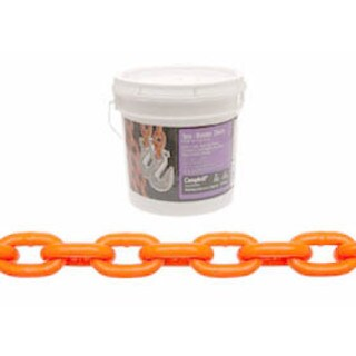 Campbell 0231912 5/16-inch x 12-foot High Test Tow Chain with Clevis Grab Hooks