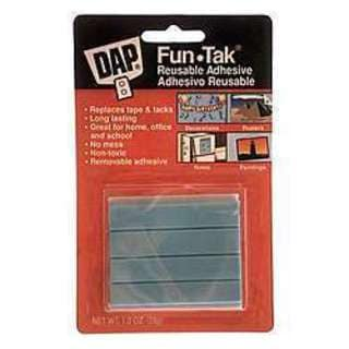 Dap 01201 Fun-Tak Reusable Adhesive