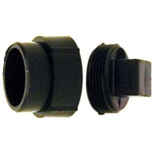 Genova Products 81630 3-inch ABS-DWV Fitting Clean-Outs with Threaded Plug