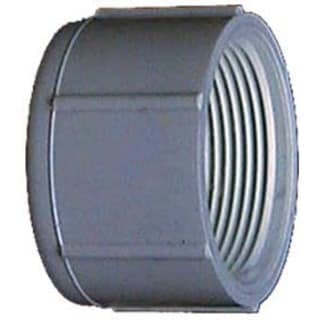 Genova Products 30161 1.5-inch PVC Sch. 40 Threaded Caps