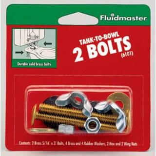Fluidmaster 6101 Tank-To-Bowl 2 Bolts