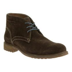 Men's Hush Puppies Benson Rigby Chukka Boot Dark Brown Suede