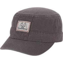 Men's A Kurtz Military Hat w/ Band Charcoal