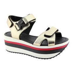 Women's L & C Apollo-1 Platform Sandal Gold
