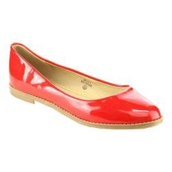 Women's L & C Milly-1 Flat Red