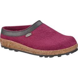 Giesswein Acadia Clog Slipper Bordeaux Wool