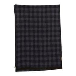 Men's Ben Sherman Woven Checkered Scarf Navy