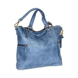 Women's Nino Bossi Petunia Tote Handbag Washed Blue