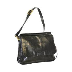 Women's Nino Bossi Rose Petal Cross Body Bag Black